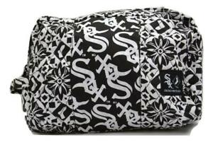 Too Cute! New Licensed Chicago White Sox Quilted Cosmetic Bag Purse S160
