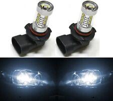 LED 80W 9005 HB3 White 5000K Two Bulbs Head Light High Beam Show Plug Play