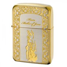 New Zippo Lighter 1941 Maria Silver x Gold 41MARIASG Authentic