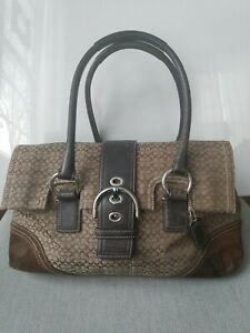 Coach Handbag Large Preowned