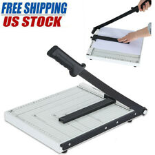 Paper Cutter A4 ToB7 Metal Base Guillotine Page Trimmer Blade Scrap Booking New