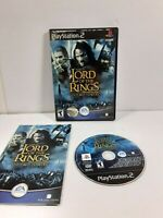 Lord Of The Rings Two Towers PS2 Playstation 2 Game Complete Tested