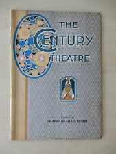 November 14th, 1921 - Century Theatre Playbill - The Taming Of The Shrew - Lewis