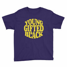 Young Gifted & Black Unisex T-Shirt for Youth Short Sleeve Tee