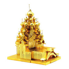 3D Metal Puzzle The Church of Transfiguration Statue History Architectures
