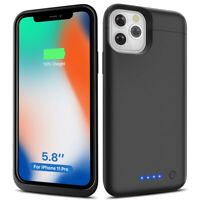 F iPhone 11 Pro/ 11 Pro Max Power bank External Charger Battery Pack Case Cover