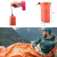 Outdoor Sleeping Bag Emergency Blanket Thermal Waterproof Survival Camping