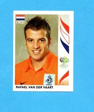 PANINI-GERMANY 2006-Figurina n.238- VAN DER VAART - OLANDA -NEW BLACK