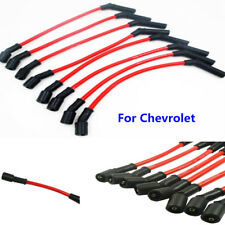 8PCS 10.5mm LSx LS1 LS2 LS3 LS6 LS7 High Heat Spark Plug Ignition Wires For GMC
