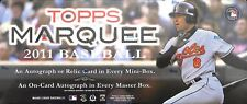 2011 Topps Marquee Baseball SEALED BOX 4 mini boxes per master box