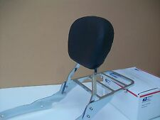 """NEW"" Honda Shadow 1100 / ACE 1100 Sissy Bar Backrest w/ Luggage Rack - M Pad"