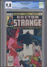 Doctor Strange #60 CGC 9.8 1983 Marvel Dracula, Cap. Marvel & Scarlet Witch App