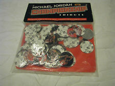 NEW MICHAEL JORDON CHAMPIONSHIP TRIBUTE PICTURED DISC AND COINS