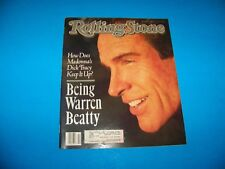 "Rolling Stone Magazine #579 ""Warren Beatty / Madonna""    1990"