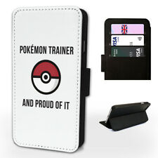 I AM A Pokemon trainer - Flip Phone Case Cover Fits Iphone / Samsung