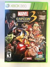 Marvel vs Capcom 3 Fate of Two Worlds - Xbox 360 - Replacement Case - No Game