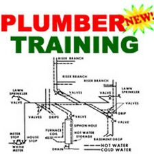 Plumber Plumbing Training Course Instruction Manual How To Cd