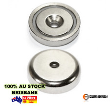24X Strong Countersunk Ring Pot Magnets 20mm / 6kg | Neodymium Rare Earth | Door