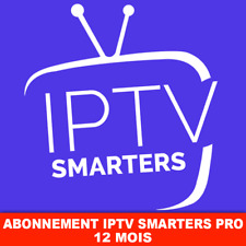 Smarters pro🔥Smart IP🔥TV 12 months subscription ✔️M3U✔️SMART TV✔️ANDROID✔️MAG