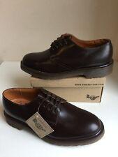 Bnwt! Sz7 Vtg England Dr. Martens 1462 Air Cushioned Brown Leather Shoes Eu41