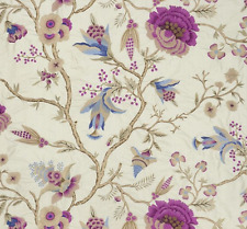 DESIGNERS GUILD FABRIC ROYAL COLLECTION WINDSOR GREAT PARK - AMETHYST FRC2153/01