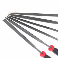 2 Set of 6 Needle File Set for Jeweler Wood Carving Model Metal and Glass