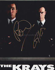 Martin And Gary Kemp Hand Signed 8x10 Photo, The Krays, Spandau Ballet, Ronnie G