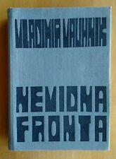 Nevidna Fronta Vladimir Vauhnik  Memoir WWII spy 1st Edition In Slovenian 1965