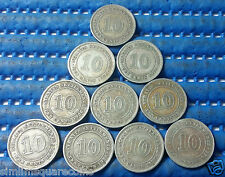 1926 Straits Settlements 10 Cents Silver Coin (Price Per Piece)