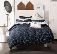 Queen/King/SuperKing Size Bed Duvet/Doona/Quilt Cover Set New Ar M365