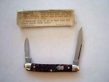 ORIGINAL SCHRADE WALDEN NY USA 708 SERPENTINE PEN  KNIFE