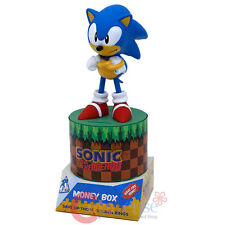 Sonic The Hodgehog Figure Coin Bank Money Box Collectors Edition