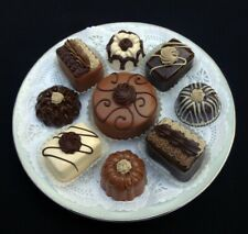 9 Pc. Triple Chocolate Fancy Pastry Set