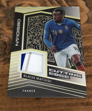 2019-20 Panini Obsidian Blaise Matuidi France Cutting Edge Yellow /10