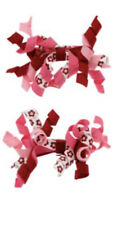 Nwt Gymboree Cozy Owl Pink Floral Barrette  Hair Clip Fun Fall