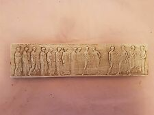 Miniature Fine Art Antique Italian Roman plaster Pictorial Sculpture Plaque NEW