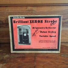 Vintage Luna Lite Brilliant XENON Strobe Light Never Opened in Original Box B