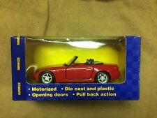 Maisto Road & Track motorized Honda S2000 Die-Cast Car in factory box, NEW