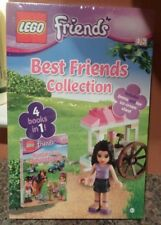 Lego Best Friends Collection 4 Books in 1 Emma and her Ice Cream Stand New