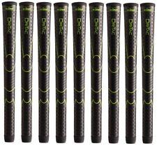 9 x Winn Golf Dri-Tac DriTac Performance Soft Black Grips 6DT-BK Midsize NEW!