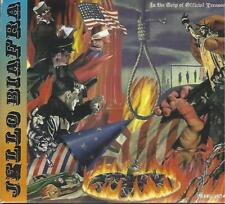 JELLO BIAFRA-IN THE GRIP OF OFFICIAL TREASON-3 CD SET-POSTER-2006-DEAD KENNEDYS
