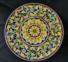 PRESTIGIOSO e RARO Piatto in ceramica di Caltagirone