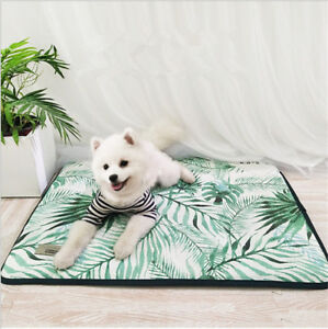 Pet Dog Self Cooling Mat Pad for Kennels Crates and Beds(S,M,L,XL)