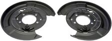 FITS 04-09 LEXUS RX330 RX350 04-07 HIGHLANDER PAIR OF REAR BRAKE DUST SHIELD