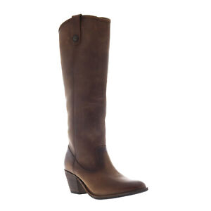 Frye Jackie Button 72369 Womens Brown Leather Casual Dress Boots