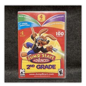 JumpStart Advanced 2nd Grade (4 CD Set) Typing, Math, Reading, Essentials 2010