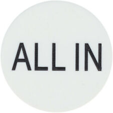 "New ""All In"" Button 2"" for Texas Hold'Em Poker Tournaments Games"