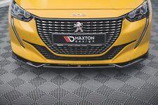 CUP Spoilerlippe CARBON für Peugeot 208 MK2 Frontspoiler Spoilerschwert ABS V2