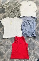 Bundle Of Ladies Size 16 Tops Some BNWT M&S, Next, Bon Marche A&A