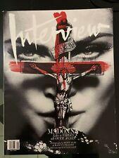 Interview Magazine Madonna  May 2010 RARE